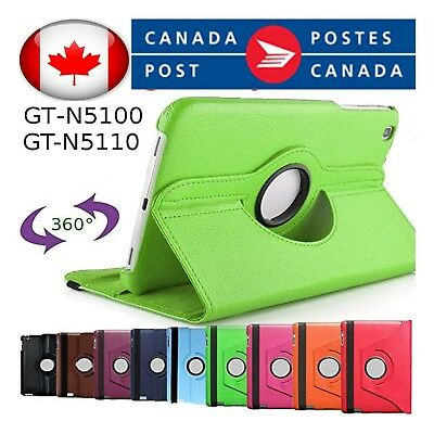 """For Samsung Galaxy Tab 2 10.1"""" and Tab 1 10.1"""" P5100 Rotating Stand Case Cover"""