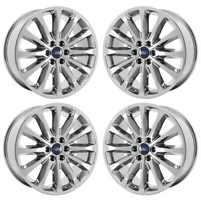 22 Ford F150 Limited Pvd Chrome Wheels Rims Factory Oem Set 10174 Exchange 795 00 Picclick