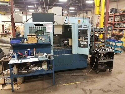 Matsuura V. Plus 800 - New 2002, Low Hours, Tooling Included, Tsudakoma 4th Axis