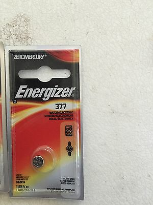 Lot of 15 Energizer Silver Watch Button Cell Battery Batteries 377 377BPZ 376
