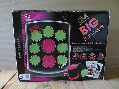 Diva Professional Styling Big Hot Rollers