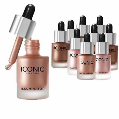 Iconic London Illuminator Drops Face Liquid Highlighter 30ml UK Stock