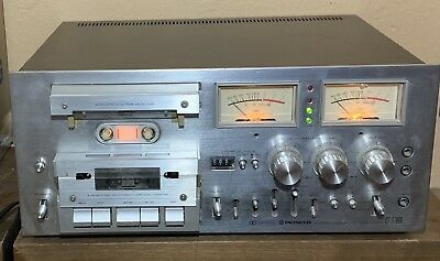 Pioneer CT-F1000 3 Head Cassette Tape *FOR PARTS OR REPAIR*