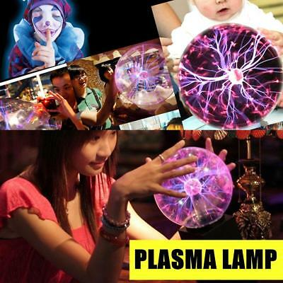 Magic Plasma Ball Light Touch Sensitive Lighting Sphere Lamp Decor Gift Toy