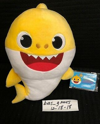 Pinkfong Baby Shark Official Song Doll - Yellow - WowWee - ENGLISH