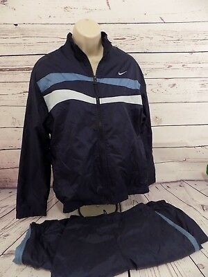 Nike track suit womens XL (12-14) Navy