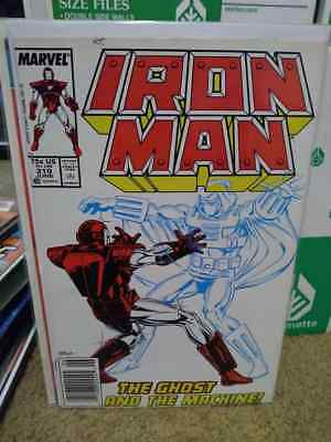 IRON MAN #219 (Jun 1987, Marvel) - 1st app. GHOST from Ant-Man & Wasp Newsstand