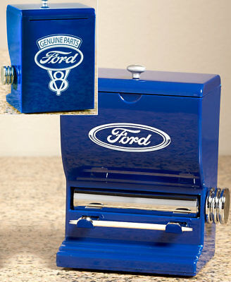 Ford Genuine Parts Themed Toothpick Dispenser Tabletop Kitchen Counter Decor