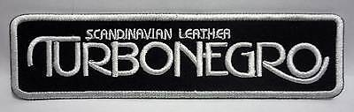 TURBONEGRO Scandinavian embroidered patch Turbojugend Motorhead The Hellacopters
