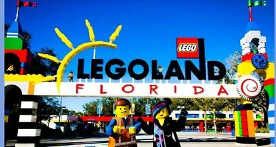 Legoland tickets florida 1 Day Park +Waterpark- Comp 1 year General Admission