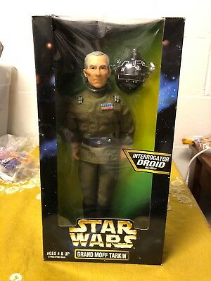 """Star Wars Action Collection 12"""" Grand Moff Tarkin with Interrogator Droid- NEW"""