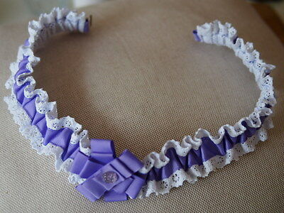 New Handcrafted Girl's Elasticated Belt for Child Aged 2 to 4 - 20-21.5 cms  NEW