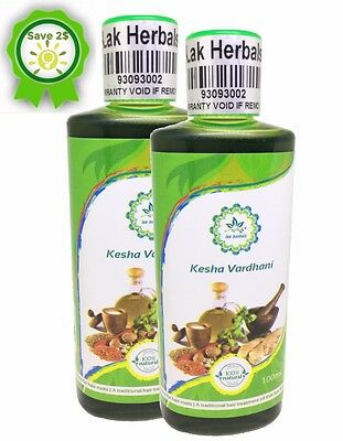 2X Kesha Vardhani. 100% Natural Hair Fall Treatment -Side Effects Free-Authentic