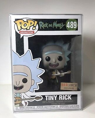 Funko Pop! Animation TINY RICK #489 Rick and Morty Box Lunch Exclusive