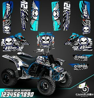 Yamaha banshee full graphics sticker kit decals ATV