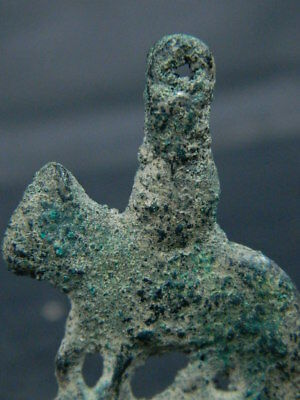 Ancient Bronze Bactrian C.300 BC Animal ###BR7222###