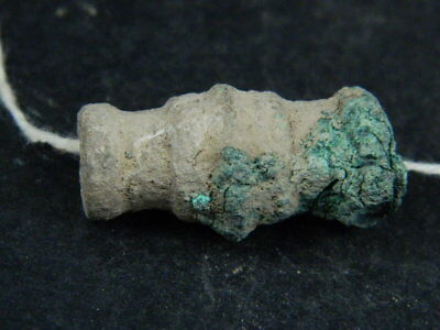 Ancient Bronze Islamic C.1200 AD Bead ###BR6702###