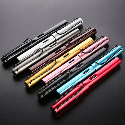 Hot Aluminum Alloy WING SUNG 6359 Office Fountain Pen Writting Fine Nib 0.38mm
