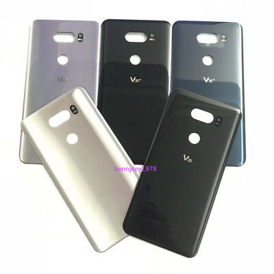 For LG V30 V30+ Plus Battery Back Cover Glass Housing Door Replacement+Adhesive