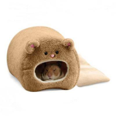 Winter Cute Pet Rabbit Hamster House Bed Warm Squirrel Cage Nest Accessory