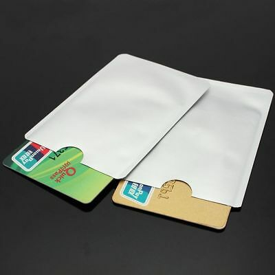 RFID Credit Card Passport Protector Case Blocking Sleeve Shield Holder Secure