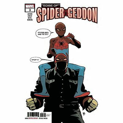 Edge Of Spider-Geddon #3 1st Print 1st App SPIDER BEN 2018 Marvel Comics