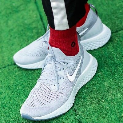 c057a9c6620 Nike Epic React Flyknit chaussures hommes sport loisir gris sneaker  AQ0067-002