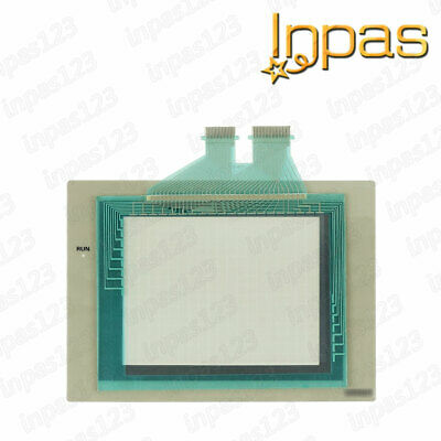 For Omron NS5-SQ00-V1 NS5-SQ01-V1 Touch screen panel glass + Protective overlay