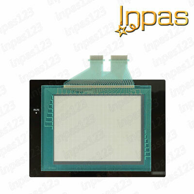 For Omron NS5-MQ00B-V2 Touch screen panel glass + Protective overlay