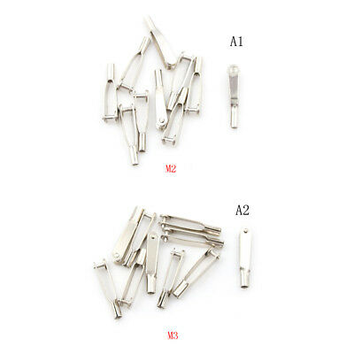 RC 2MM CLEVIS Snap Links Stainless Steel M2 Thread PACK OF