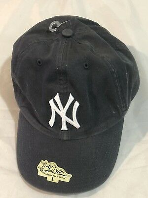 NEW YORK YANKEES  47 Brand MVP HAT Adult HOME NAVY Adjustable Cap ... 6cfb106efc