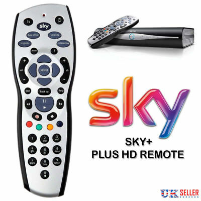 New Brand + Plus HD Box Remote Control REV Replacement 9f HQ UK 2018