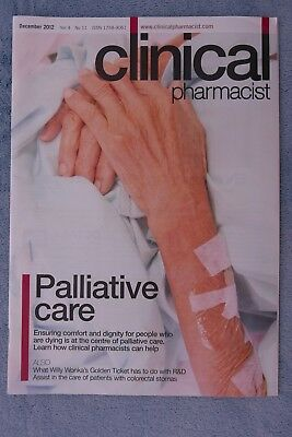 Clinical Pharmacist Magazine, Vol.4, No.11, December 2012, Palliative Care