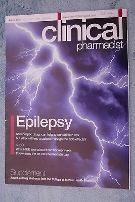 Clinical Pharmacist Magazine, Vol.2, No.3, March 2010, Epilepsy; CMHP Abstracts