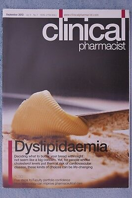 Clinical Pharmacist Magazine, Vol.5, No.7, September 2013, Dyslipidaemia