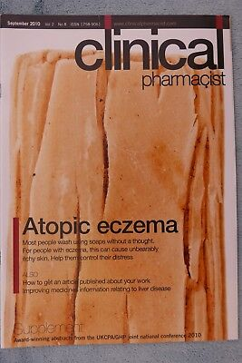 Clinical Pharmacist Magazine, Vol.2, No.8, September 2010, Atopic Eczema