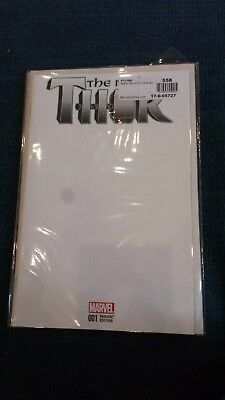 The Mighty Thor Blank Variant 2015 2nd Volume Marvel Comic