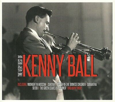 The Very Best Of Kenny Ball - 2 Cd Box Set - Midnight In Moscow, Dinah & More