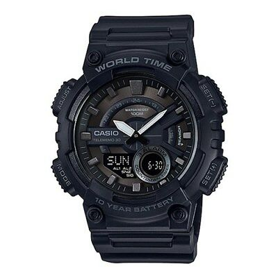 Casio 1BV Analog Digital Watch - Black Digital Watch