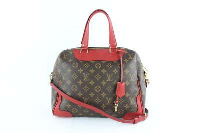 1779dc1a06e8 Louis Vuitton Retiro Cerise Monogram Nm Brown Coated Canvas Shoulder Bag  6lz1812