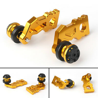 Aluminum CNC Or Swingarm Spools Adapter Mounts Pour Kawasaki Z900 2017 FR