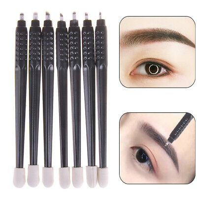 1Pc Disposable Microblading Tattoo Pen With Needle Permanent Makeup F/U BladesBR