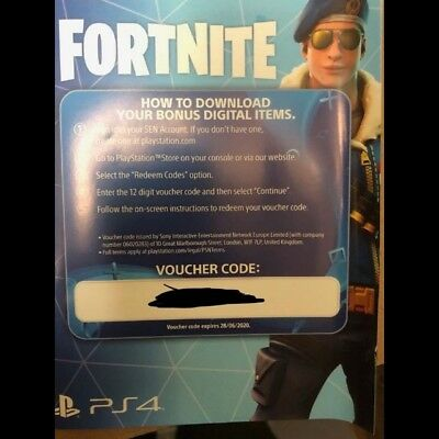 Royal Bomber Skin + 500 VBucks - Fortnite PS4