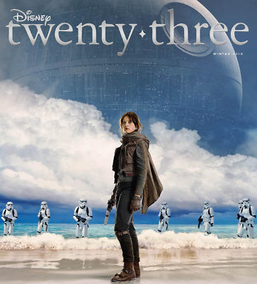 New! Disney Twenty-Three Winter 2016 Magazine - Rogue One: A Star Wars Story