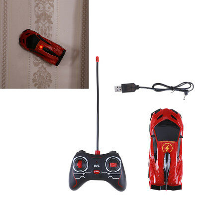 Remote Control Wall Climbing RC Car with LED Lights 360 Rotating Stunt Toy BRZY