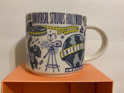 Universal Studios Hollywood Starbucks 2019 You Are Here Been There Series Mug