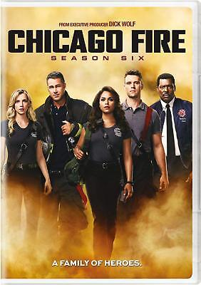 Chicago Fire: The Sixth Season 6 (DVD, 2018, 6-Disc Set)  New, US Seller.