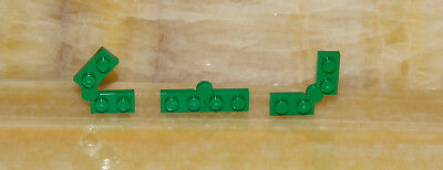 ☀ LEGO Lot of 15pcs New Hinges Plates 1X4 Green  19954