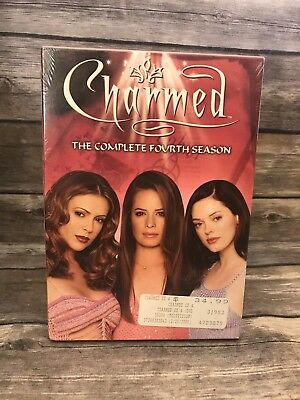 Charmed - The Complete Fourth Season Four 4 (6-Disc DVD Set) Brand NEW Sealed