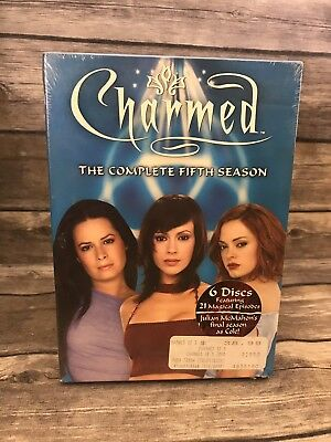 Charmed - The Complete Fifth Season Five 5 (6-Disc DVD Set) Brand NEW Sealed